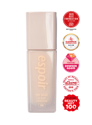 COLORFUL NUDE PRO TAILOR FOUNDATION BE GLOW SPF25 PA++