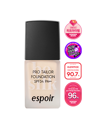NEW PRO TAILOR FOUNDATION BE SILK SPF34 PA++ 10ml