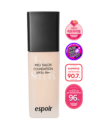 NEW PRO TAILOR FOUNDATION BE SILK SPF34 PA++